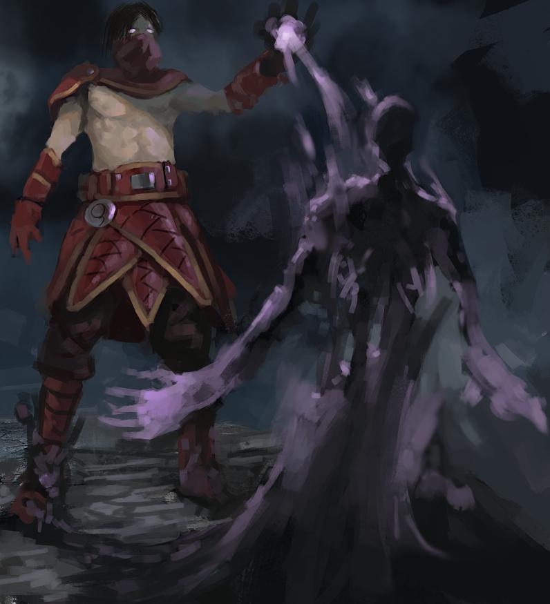 Shadowmancer by Adzerak