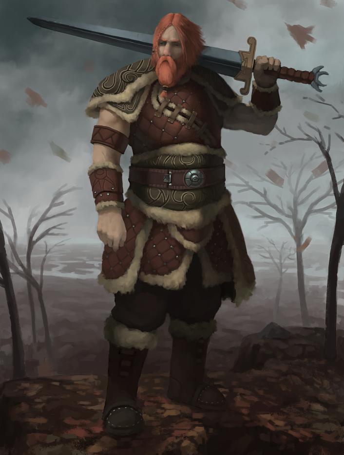 Autumn Warrior by Adzerak