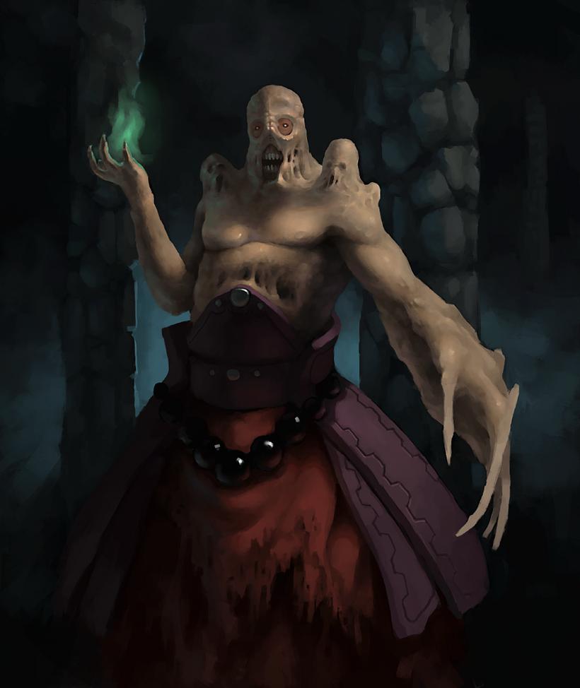 Fleshtwisted Deathcaster by Adzerak