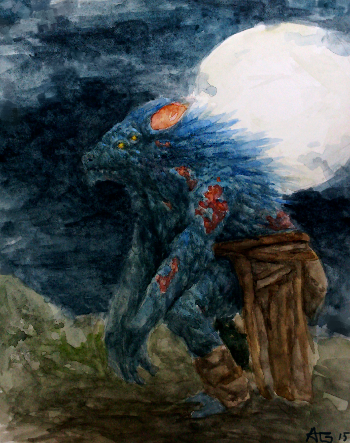 Foul Beast by Adzerak