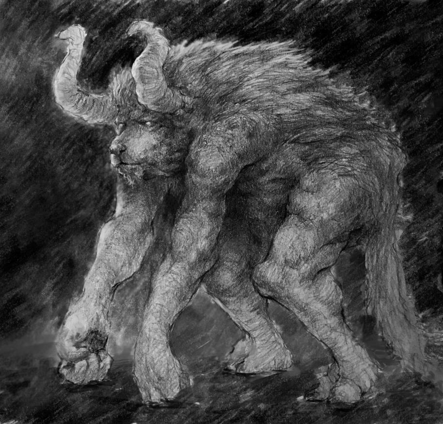 Taurus Wallpaper: Taurus Demon By Adzerak On DeviantArt