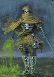 Wraith of Pestilence by Adzerak
