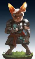 Sir Mewsifer the battlemage