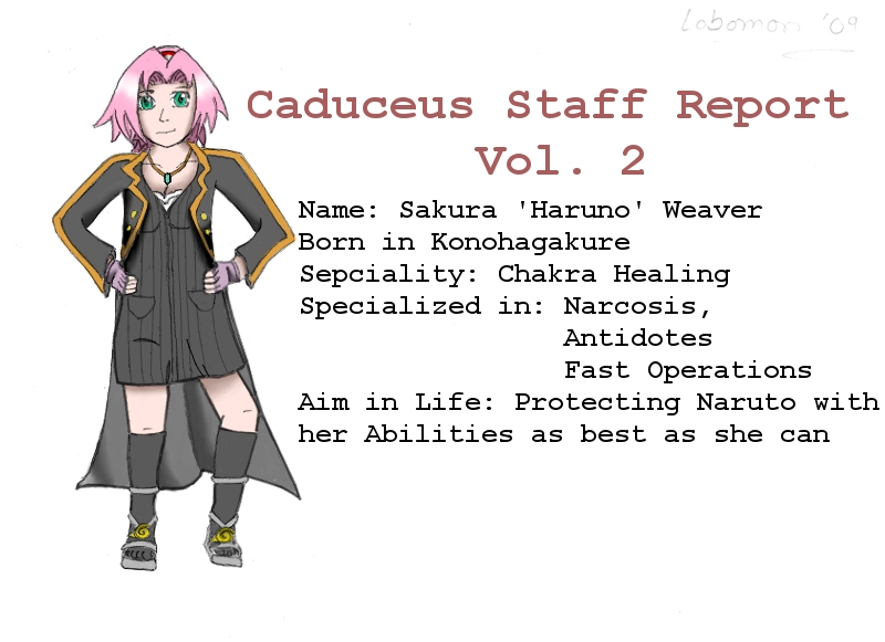 Caduceus Staff Report Vol. 2 By Seiji-Murayama On Deviantart