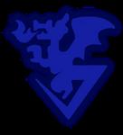 Xros Wars - Blue Flare Logo