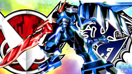 Re-Colored Shoutmon DX by Seiji-Murayama