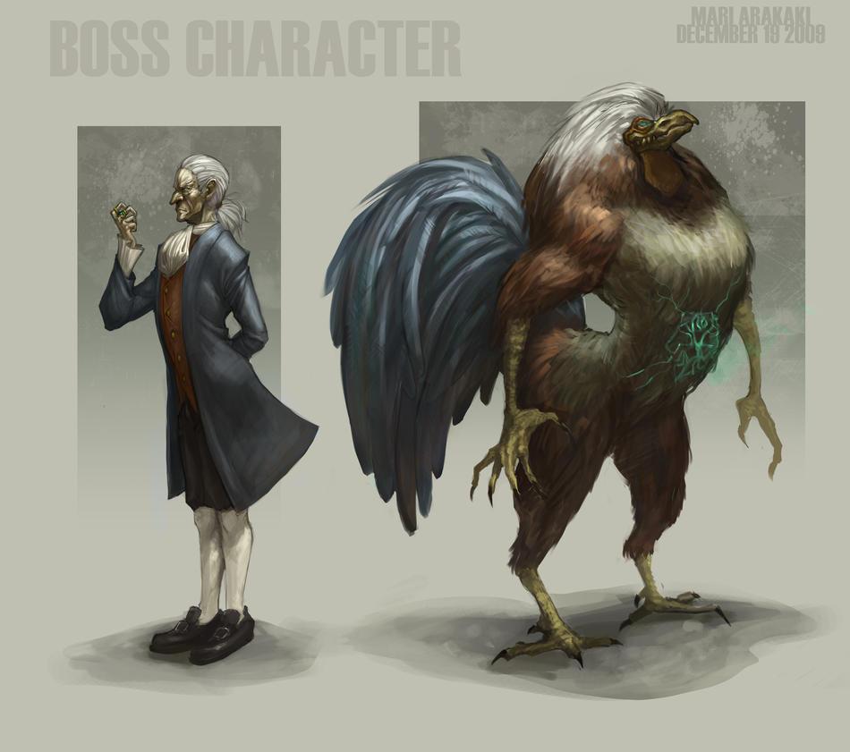 the boss by kakimari