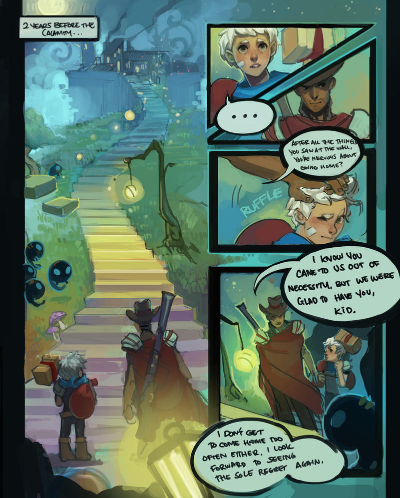 bastion comic pt1 by kakimari