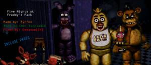 [FNAF] Models Re-Textures and Fixed Release C4D by EmmanuelGames