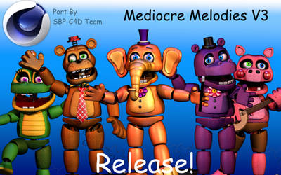 Mediocre Melodies V3 Port C4D (No Root) [OFFICIAL] by EmmanuelGames