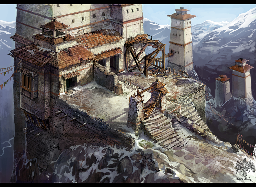 Old Monastery by apeldille