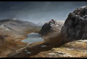 Landscape V by apeldille