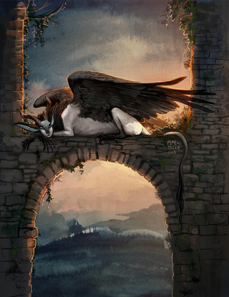 Ruins Perch by apeldille