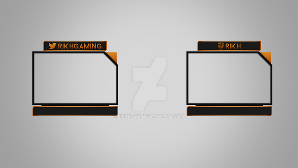 Rikh twitch webcam overlay idea by imkrave on deviantart for Twitch overlay ideas