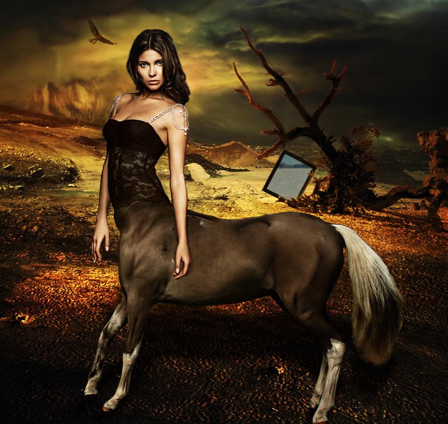 Female Centaur by blackclouds88