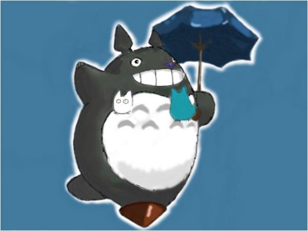 Totoro by artshell
