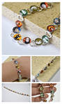 Studio Ghibli Characters on a Bracelet.