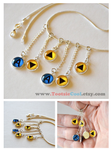 Legend of Zelda - OoT Song Dangle Necklace - Storm