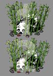 Panda 1 or Panda 2? by artshell
