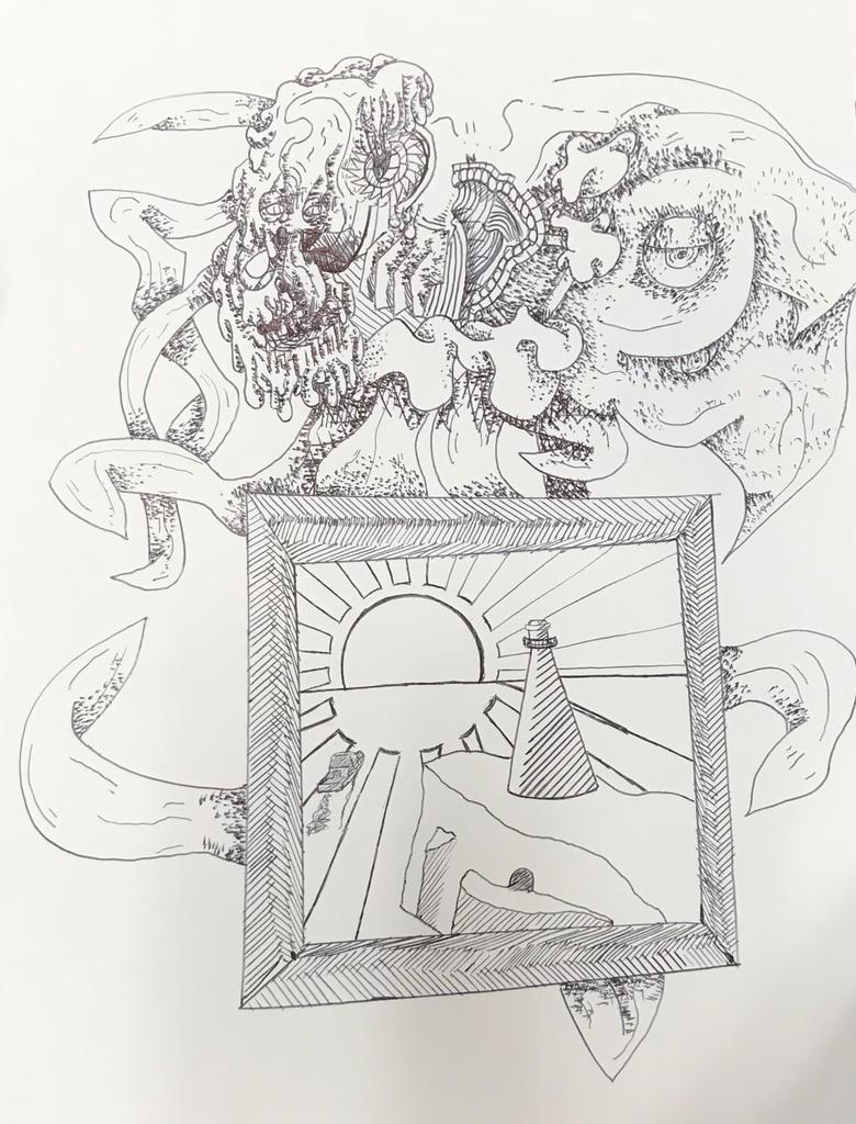 Bic pen work doodle by EdMatter
