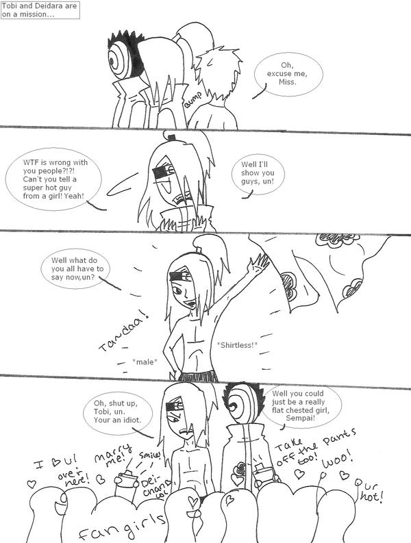 13: I'm A Guy You Idiots by Leah-Sama
