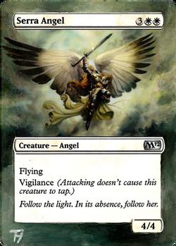 Serra Angel - Alter art