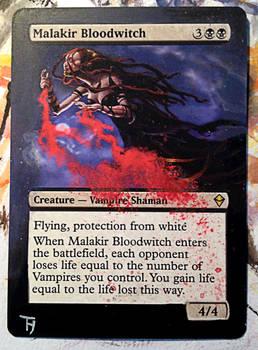 Malakir Bloodwitch - Alter art