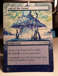 Seat of the Synod - Alter art