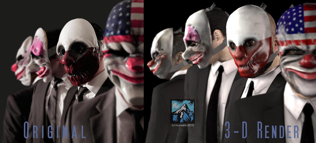 wallpaper payday the heist