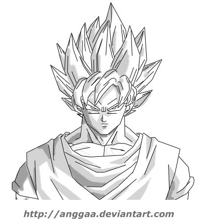 Super Saiyan Goku by anggaa on DeviantArt