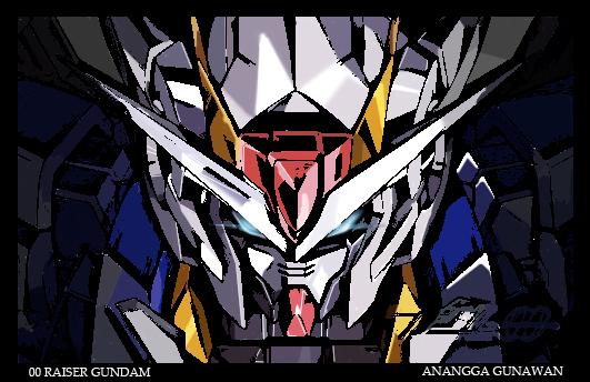 00 Raiser Gundam by anggaa