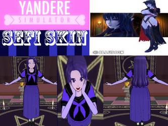 Yandere Simulator Skin-Sefi Skin by PhilipsazdovTDM