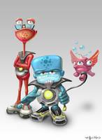 little_aliens by Folko-S