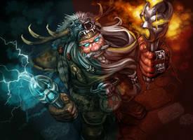 Dwarf Shaman by Folko-S