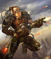 Folko Streese Oo Steampunk Warrior
