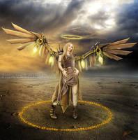 Valkyrie Angel Wars by Tree-Wisdom