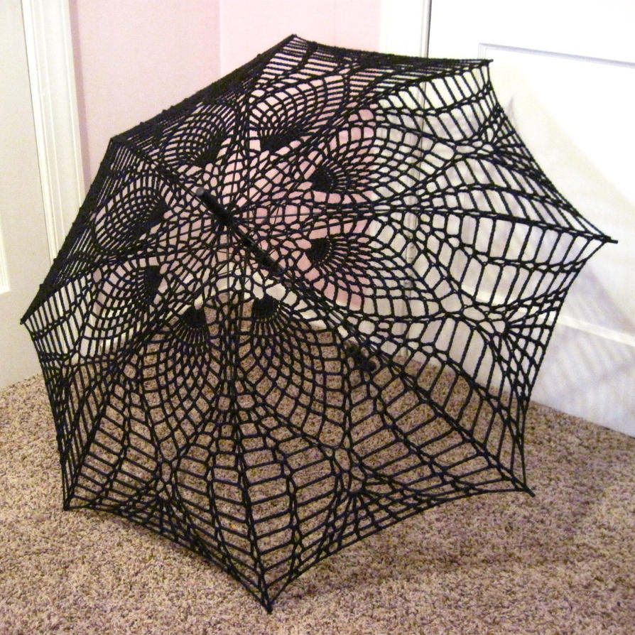 Crochet Umbrella : Crochet Parasol Umbrella by AllisonEast on deviantART