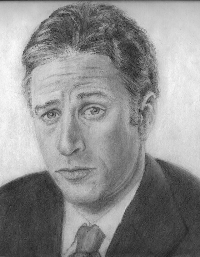 Jon Stewart by Jules89