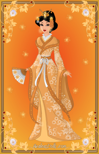 Goddess - Amaterasu by LadyYui