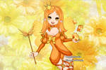 Birthstone Fairy - Topaz (November) by LadyYui