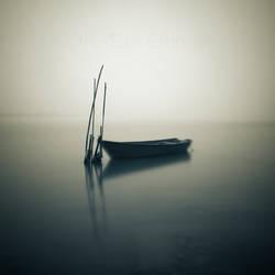 Barque dans le brouillard by correiae