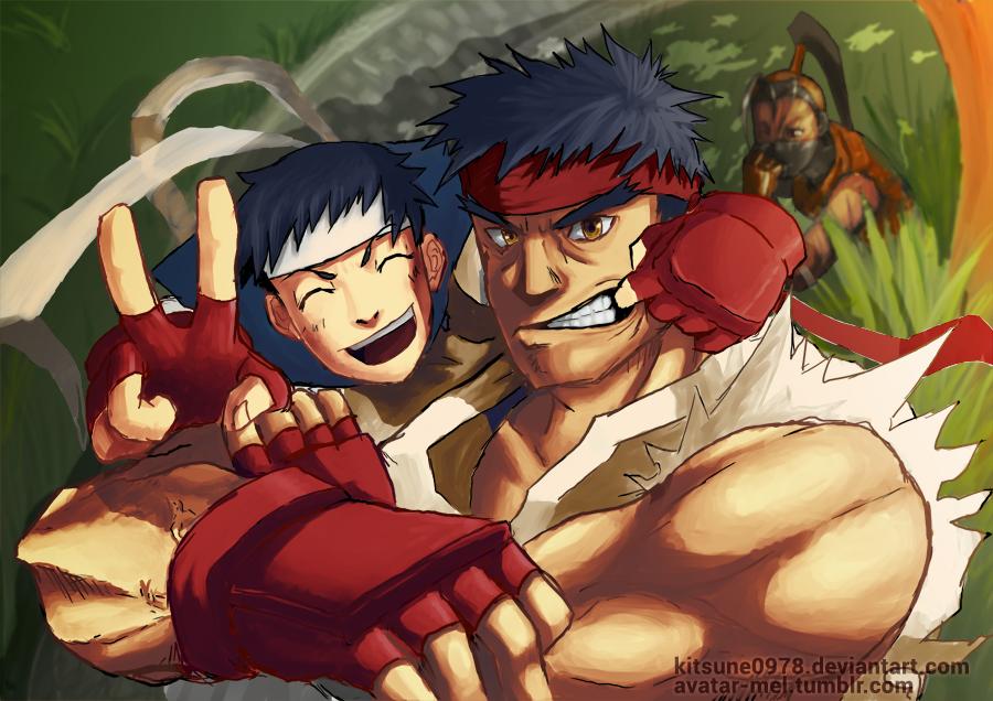 ryu and sakura relationship