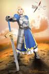 Saber - King Of Knights by kitsune0978