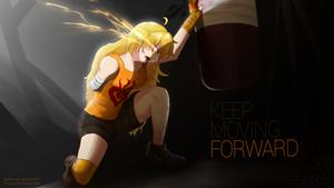 Yang, Keep moving forward - RWBY