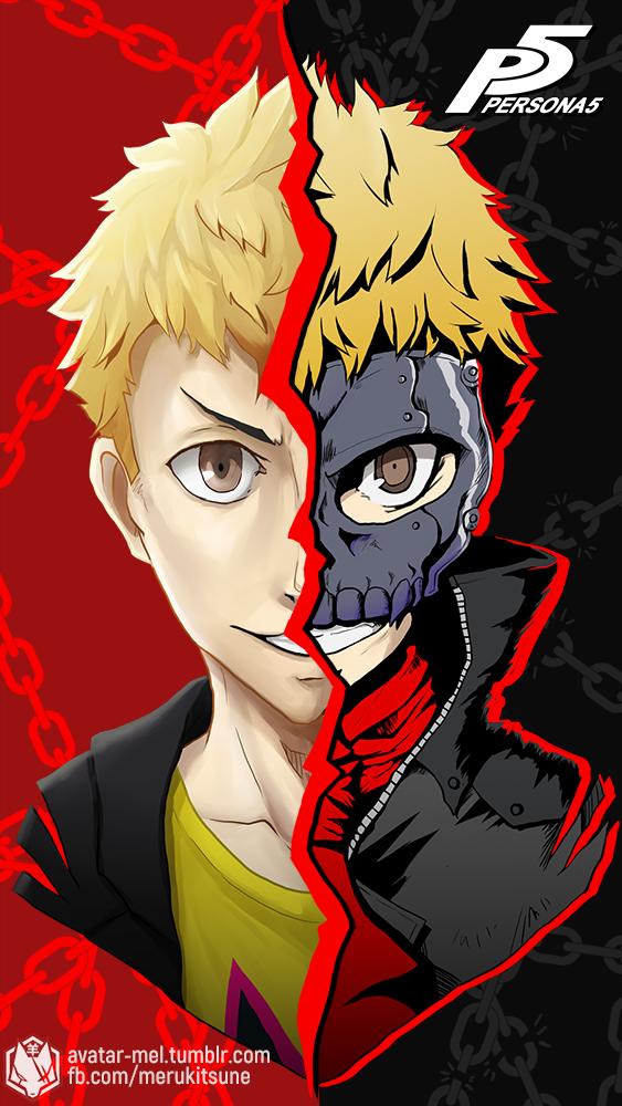 Ryuji Sakamoto Skull Persona 5 By Kitsune0978 On Deviantart
