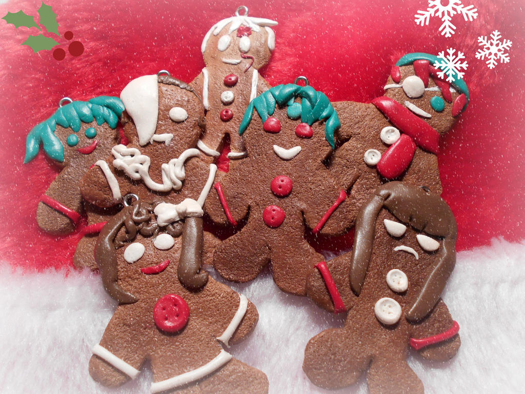 D. Gray-Man Gingerbread Men! by KidOfSymmetry