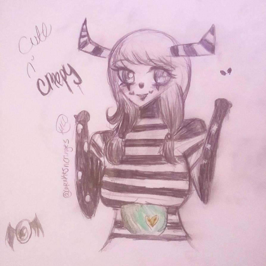 Cute n' creepy by CupcakesnCringes