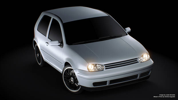 VW Golf - Silver by JaNightmare