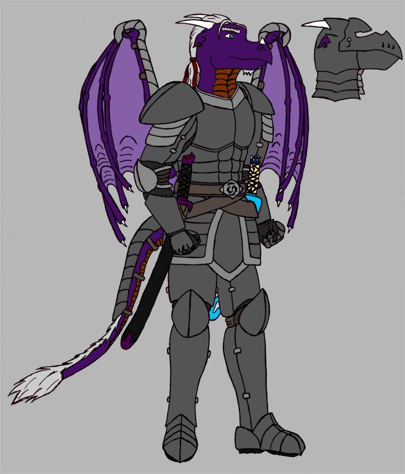 Jazen armored by RazenHashikado