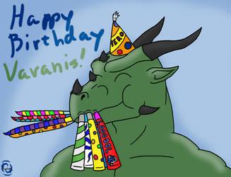 Varanis Blackclaw's Birthday Blowout by RazenHashikado